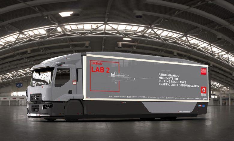 Camionul Urban Lab 2 reduce consumului de combustibil în medii urbane
