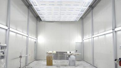 Cea mai modernă cabină de vopsitorie dedicată camioanelor și autocarelor