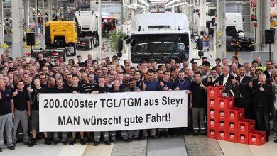 Uzina MAN din Steyr a produs camionul cu numărul 200.000