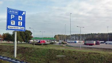 Parcarea de camioane Hazeldonk se va închide în luna iulie