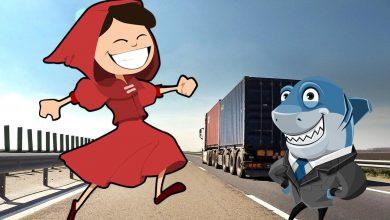 Scufiţa la firma bună vs. șofer profesionist la firma de rechini