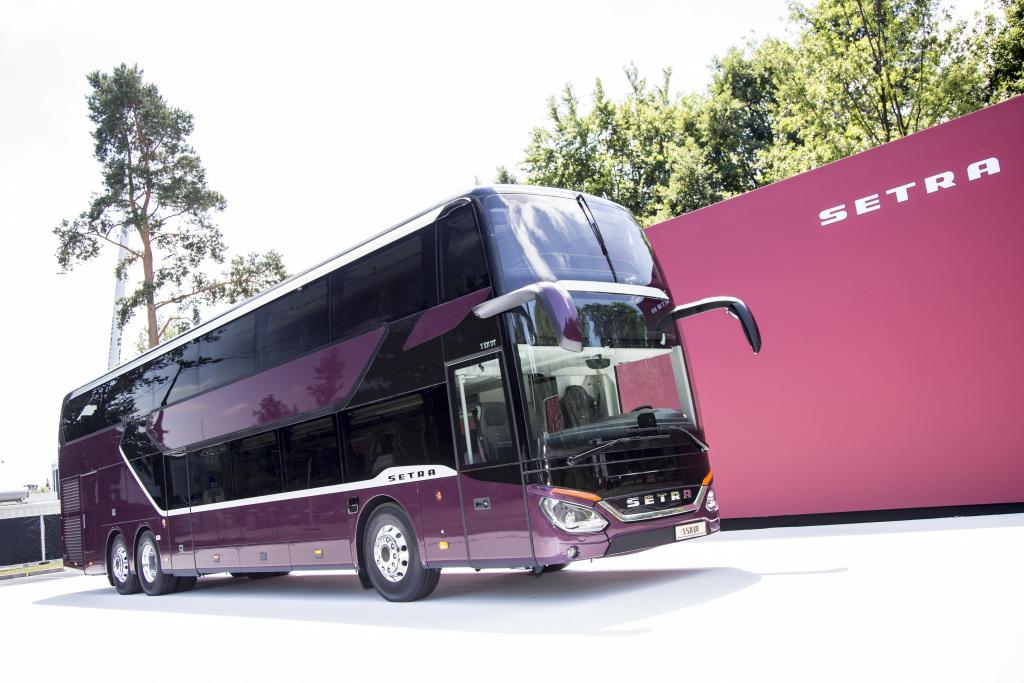 Informații în premieră despre noul autocar Setra S 531 DT