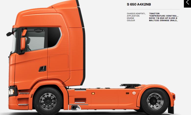 Scania a lansat noul configurator pentru camioane