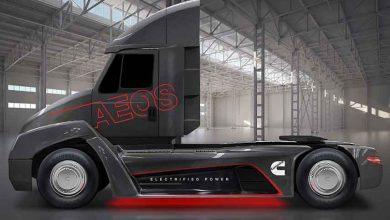 Cummins a prezentat conceptul unui camion electric cu MTMA de 15 tone