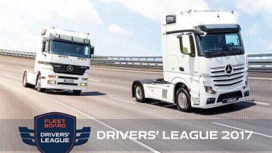 Dolo Trans Olimp se impune în competiția Fleetboard Drivers' League 2017
