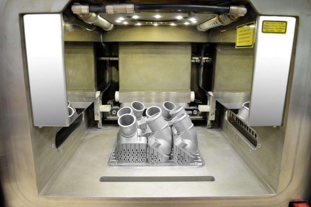 Prima piesă de schimb pentru camioane produsă prin imprimare 3D metalică