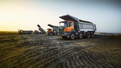 Scania India a lansat o nouă basculantă pentru industria extractivă