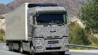 Noua generație de camioane MAN surprinsă camuflată în teste