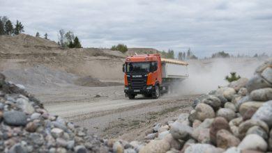 Camioanele Scania XT vin cu numeroase caracteristici de siguranță
