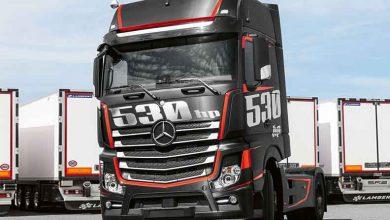 """Ediția specială Actros """"Racing"""" a anunțat lansarea OM 471 în Italia"""