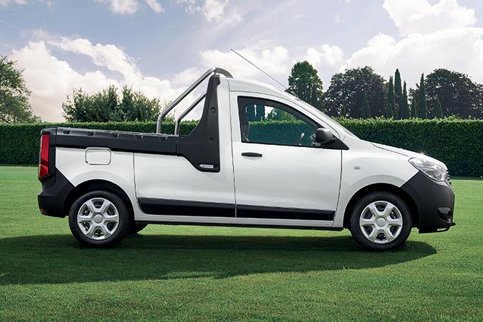 Dacia Italia prezintă modelul Dokker PickUp 2017