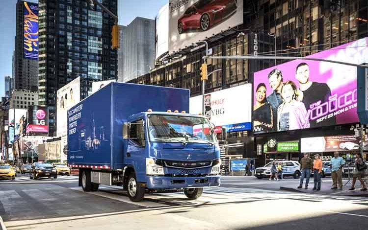 Camionul FUSO eCanter a fost lansat oficial pe piață