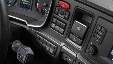 Scania a introdus în premieră frână de parcare electrică