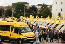 Iveco Bus a livrat 51 de microbuze școlare Daily în Lituania