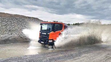 Suspensia și șasiul noilor camioane pentru construcții Scania