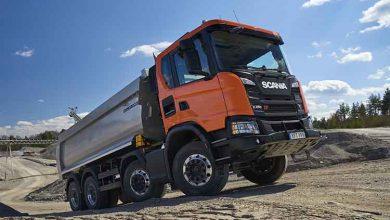 Scania XT este noua gamă de camioane pentru construcții