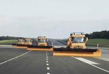 Camioane autonome Mercedes-Benz Arocs pentru operațiuni de deszăpezire
