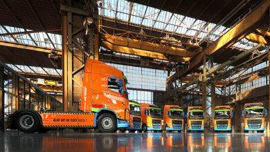Olanda promovează siguranța cu 11 camioane Volvo FH Safety Truck
