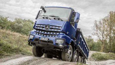 Mercedes-Benz şi-a actualizat oferta de camioane de şantier