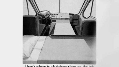 Cum a evoluat dormitul în cabina camioanelor de cursă lungă