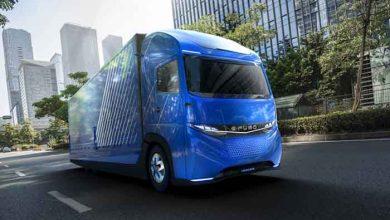 Daimler atacă piața de camioane electrice ușoare cu E-Fuso Vision One