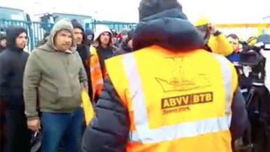 Razie a poliției belgiene împotriva dumpingului social în parcare Zeebrugge