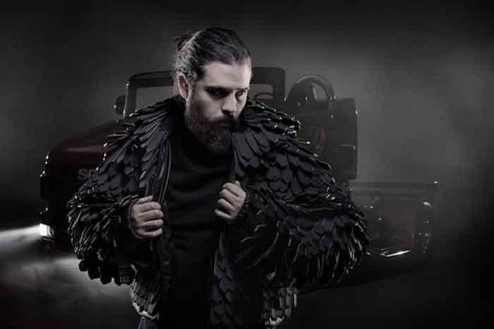 Griffin Jacket. Prima jachetă din lume creată din curele de ventilator