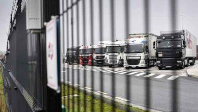 Belgienii au sechestrat 142 de camioane ce aparțin unei companii de transport românești