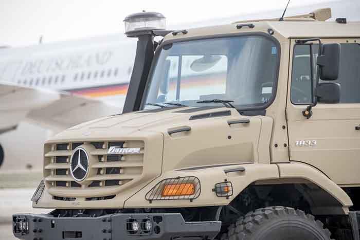 Armata iordaniană s-a dotat cu 126 de vehicule militare Mercedes-Benz