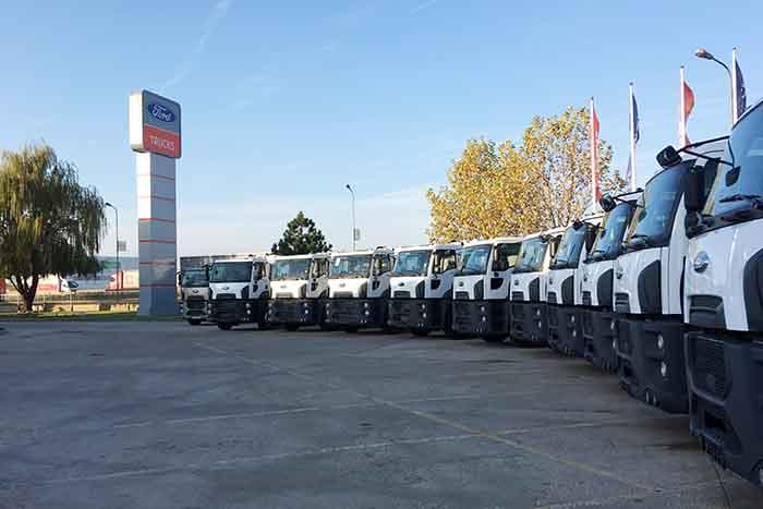Ford Trucks a livrat 10 vehicule municipale către MUD RECYCLING