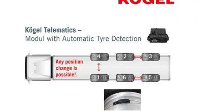 Kögel a introdus un nou modul telematic cu detecție automată a anvelopelor
