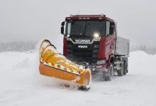 Pentru mai multă tracțiune noua generație de camioane Scania V8 este soluția