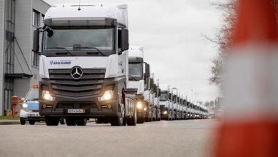 Hegelmann va achiziționa în 2018 un total de 500 de Mercedes-Benz Actros