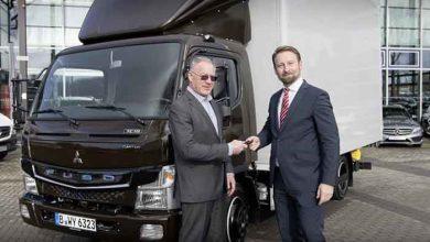 P&H Logistik și-a extins flota de distribuție cu trei Fuso eCanter