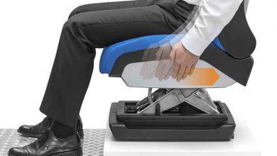 Un scaun de șofer care se ajustează prin intermediul gesturilor