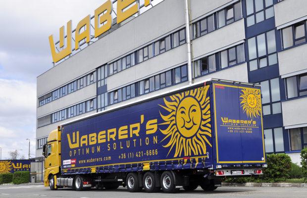 Waberer's a făcut o investiție de 62 milioane de euro în flotă