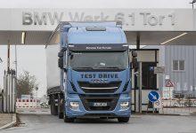 IVECO Stralis NP 400 testat de BMW în cadrul lanțului său logistic