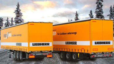 Frigiderele și congelatoarele sunt transportate cu remorci Kögel Cargo și Mega