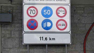 Crește tariful de tranzit pentru camioanele Euro III la Mont Blanc
