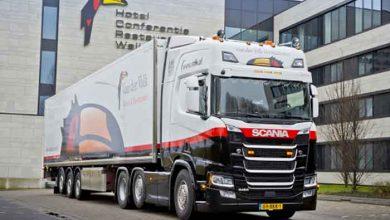 Lanțul de hoteluri și restaurante Van der Valk a ales Scania R 450
