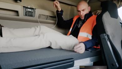 Doi europarlamentari au experimentat viața de șofer de camion (VIDEO)