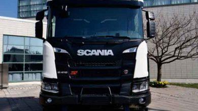 Scania XT disponibilă cu motorul OC13 alimentat cu gaz