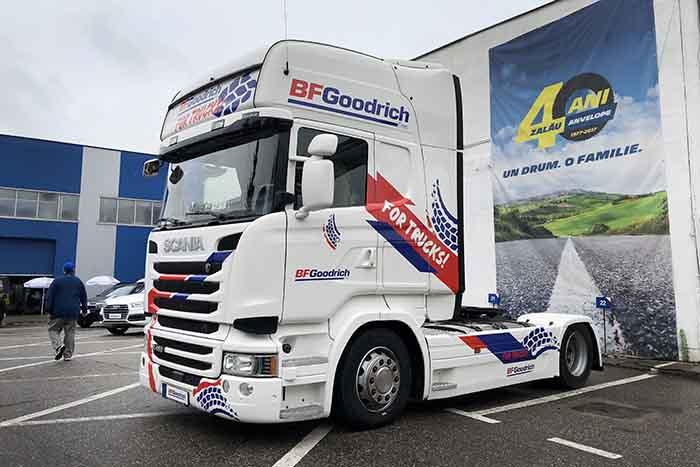 BFGoodrich a lansat noua gamă de anvelope pentru camioane și autobuze în Europa