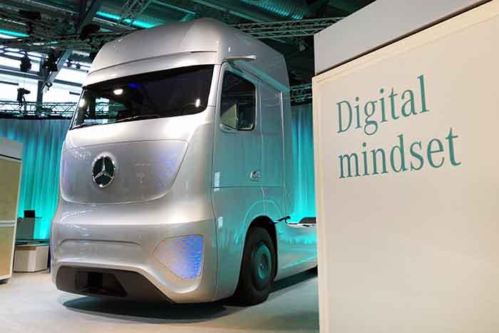 Un inside despre cum ar putea arăta camionul viitorului în viziunea Mercedes-Benz