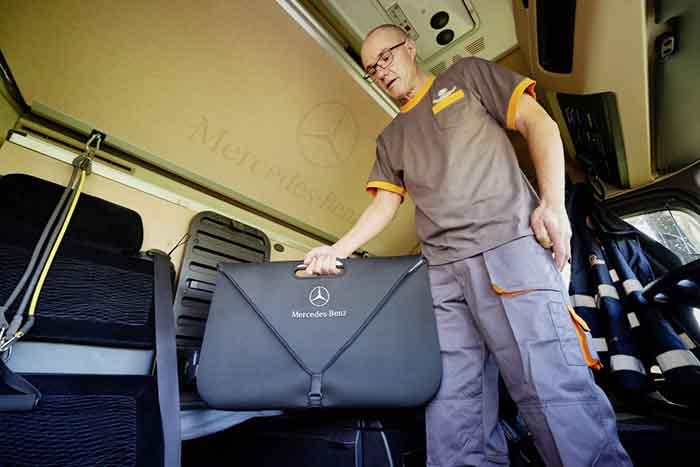 Setul TopFit îi ajută pe șoferii Fehrenkötter să se păstreze în formă