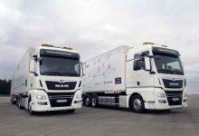 Prima utilizare practică a camioane conectate în pluton din Germania