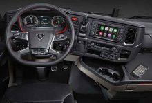 Noua generație de camioane Scania poate fi comandată cu Apple CarPlay