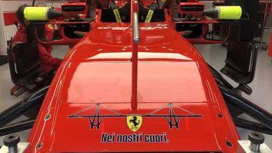 Victimele tragediei de la Genova omagiate de Scuderia Ferrari