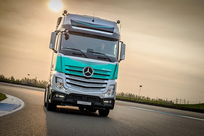 Actros SilverStar. Un camion dedicat șoferilor-proprietari din Olanda