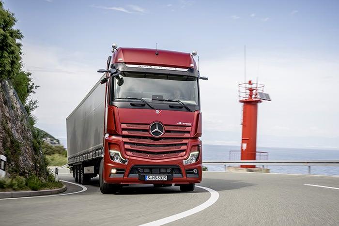 5 caracteristici cheie ale noului Mercedes-Benz Actros